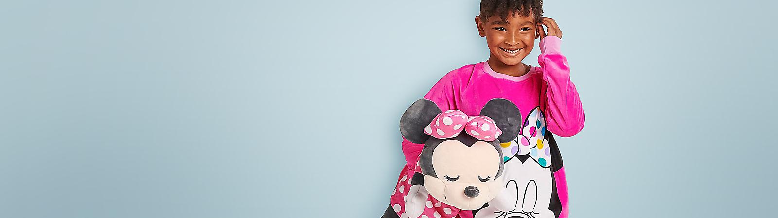 Bambi Flower Thumper Plush Doll Hug /& Smile Disney Store Japan