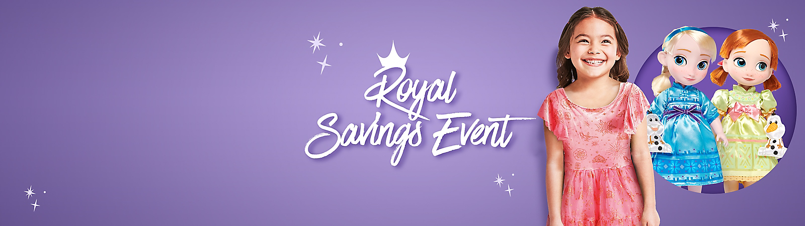 Background image of Royal Savings Event
