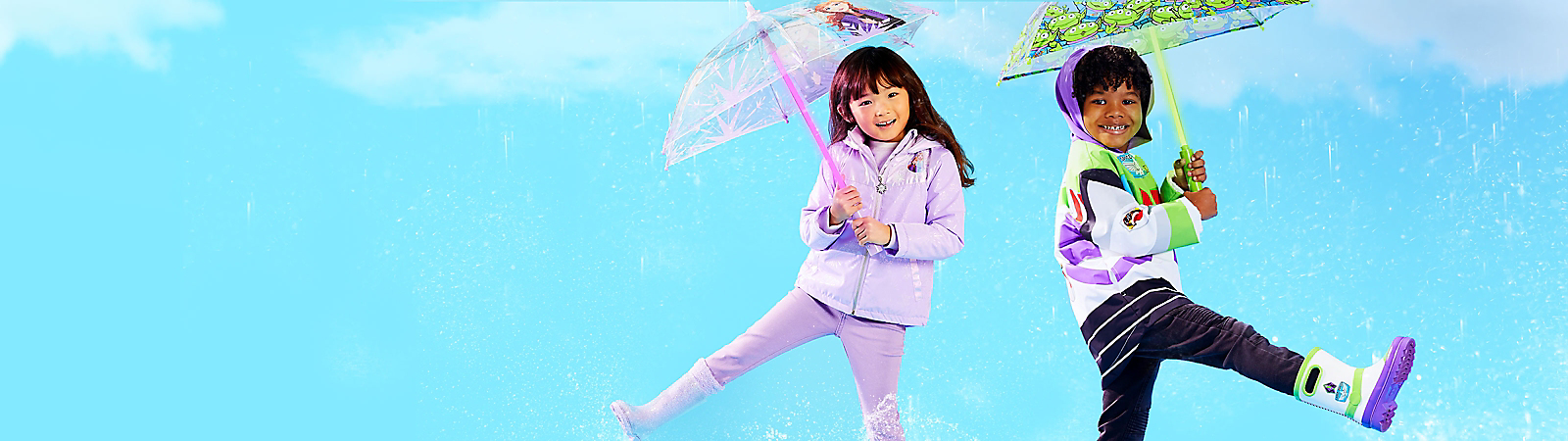 Background image of Be Rain Ready with 30% Off Kids' Rainwear