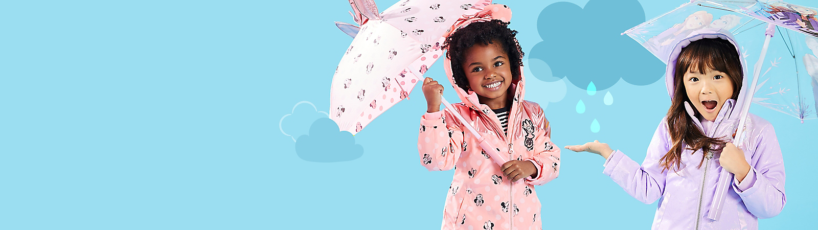 Background image of Girls' Rainwear