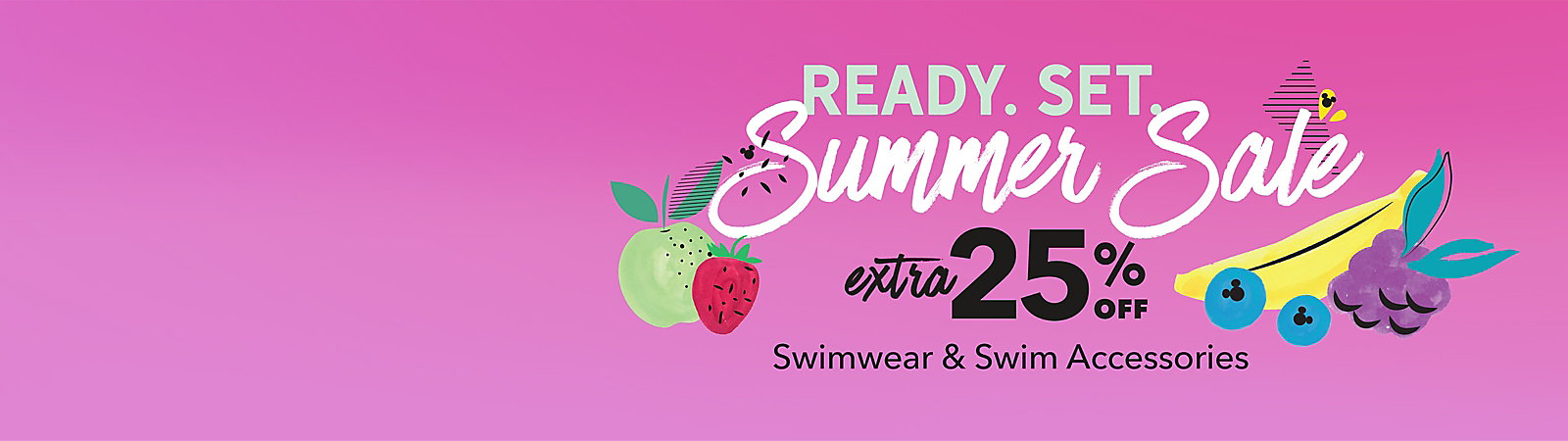 Extra 25% Off Swimwear & Swim Accessories with Code: SUMMER25