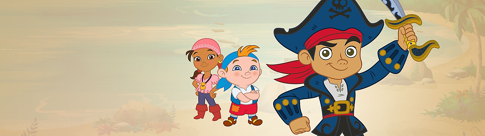Background image of Captain Jake and the Never Land Pirates