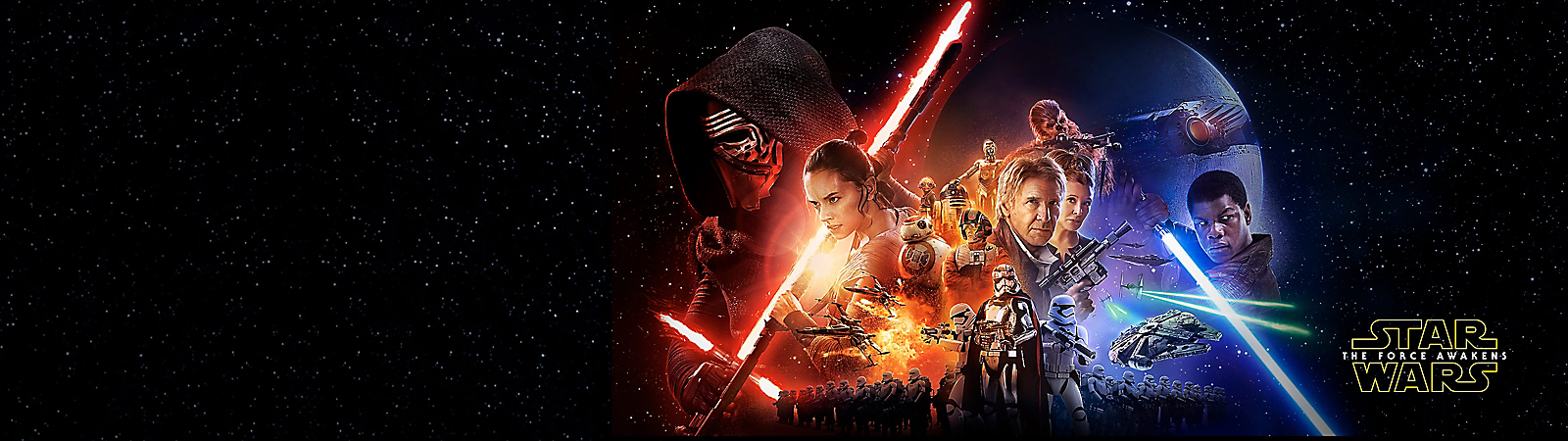 Background image of Star Wars: The Force Awakens