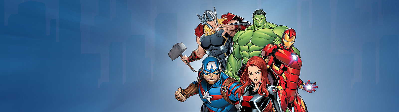 Background image of The Avengers
