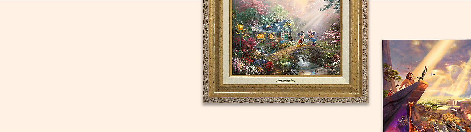 Background image of Thomas Kinkade