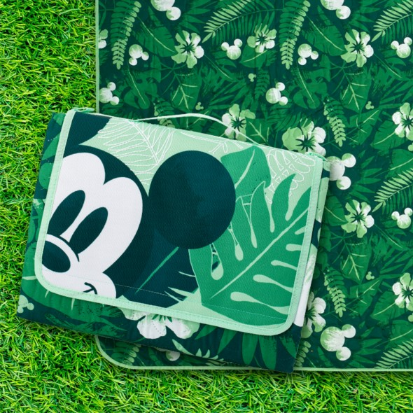 Background image of $16 Mickey Mouse Tropical Picnic Blanket with Any Purchase