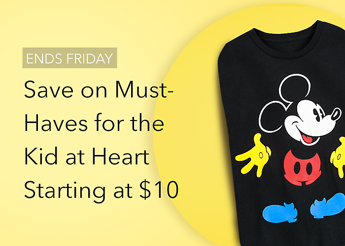 Must-Haves for the Kid at Heart Starting at $10