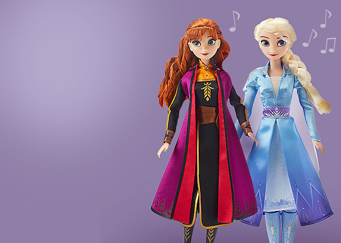 Enchanting<br>Frozen 2<br>Dolls