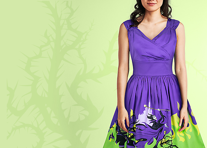 Background image of NEW Maleficent-Inspired Dress
