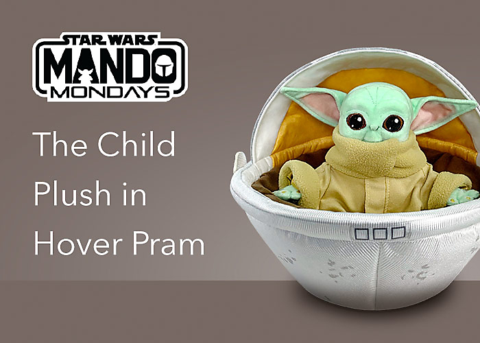 The Child Plush in Hover Pram