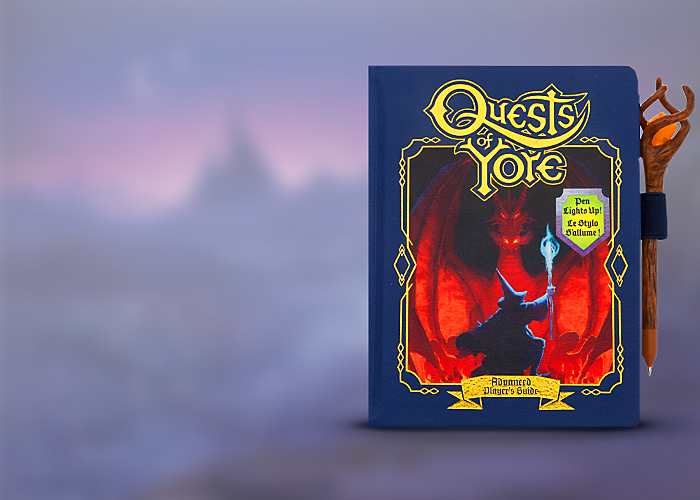 <br> </br>Cast a Spell with the New Onward Replica Journal