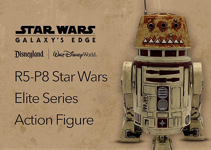 R5-P8 Star Wars Elite Series Action Figure