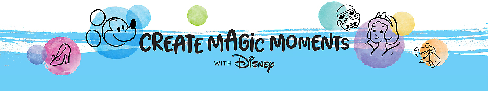 Create Magic Moments with Disney [logo]