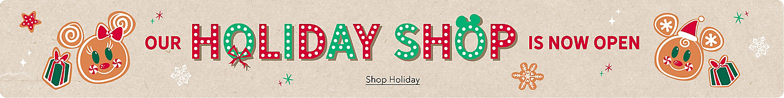 Our Holiday Shop Is Now Open Shop Holiday