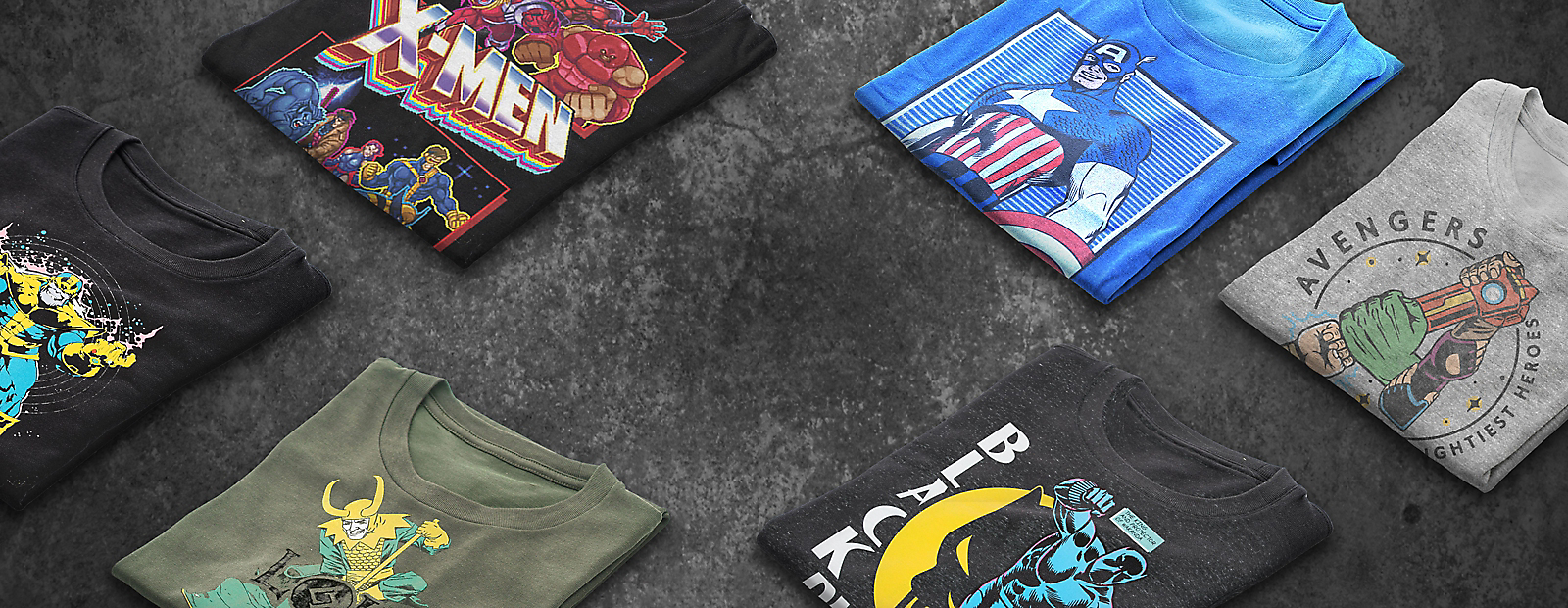 Dress Like a Hero with Character T-Shirts Shop Clothing