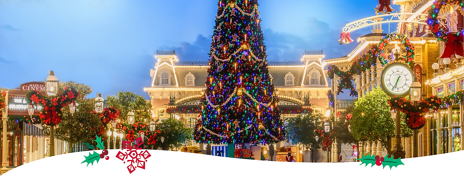 Holiday magic awaits! Get ready to celebrate the most festive time of year.