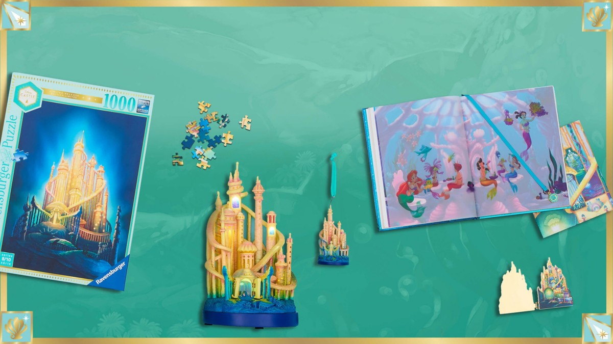 Background image of Discover Ariel's Palace Under the Sea